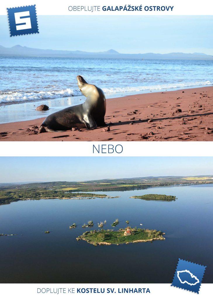 Jeden den budete pozorovat obrovské želvy, další den potkáte obří ještěry a následující se budete potápět se hejnem tučňáků. A to vše na rovníku. Právě zde Darwin přišel s teorií evoluce, vždyť zde na sousedních ostrovech žijí poddruhy, které se vyvinuly odlišně.