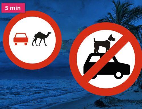 Pozor na dopravní předpisy