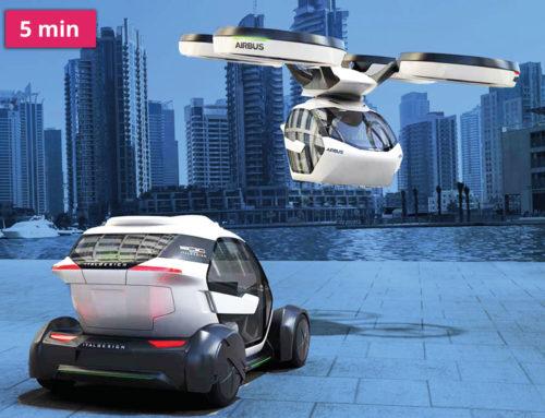 Jsou letájící auta budoucností dopravy?