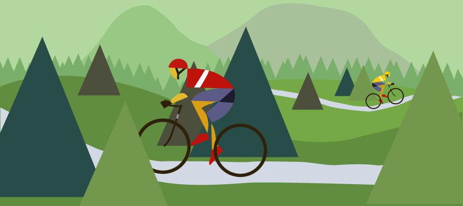 22a71fff87 Pak byste určitě měli vědět o areálech specializovaných stezek pro horská  kola