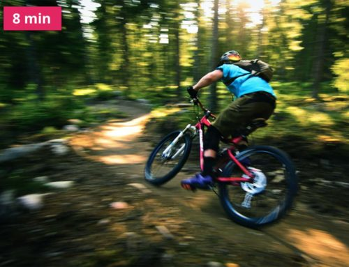Zažijte spoustu adrenalinu na stezkách pro terénní cyklistiku