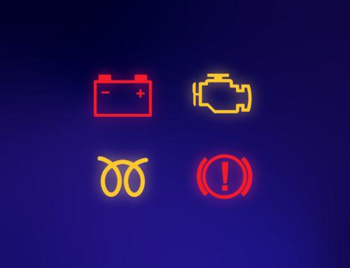 Co znamenají kontrolky v autě?
